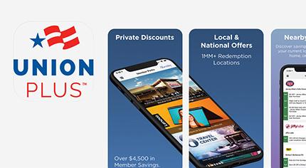 Branded app screenshots