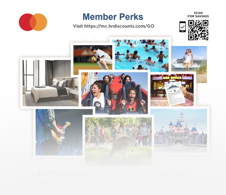 SmartLink and QR Code on Abenity Perks Program promotional materials.